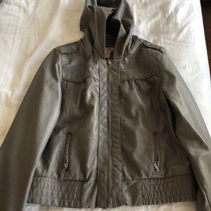 Simple lightweight grey jacket